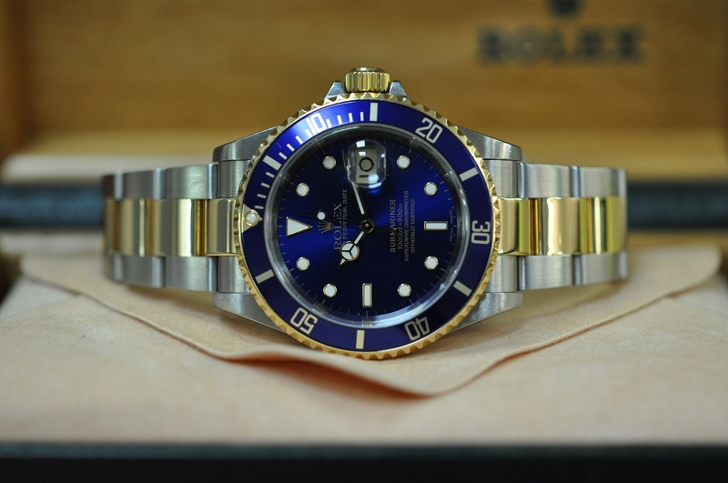 2003 Submariner-Date Steel & Gold 16613