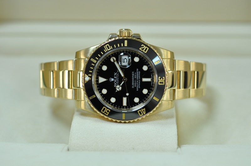 2015 18ct Gold Submariner-date