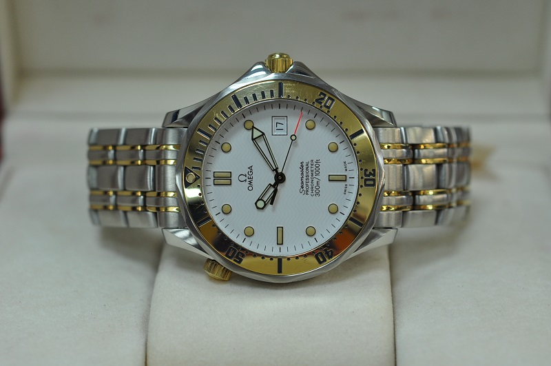 Seamaster 300M Chronometer steel/gold