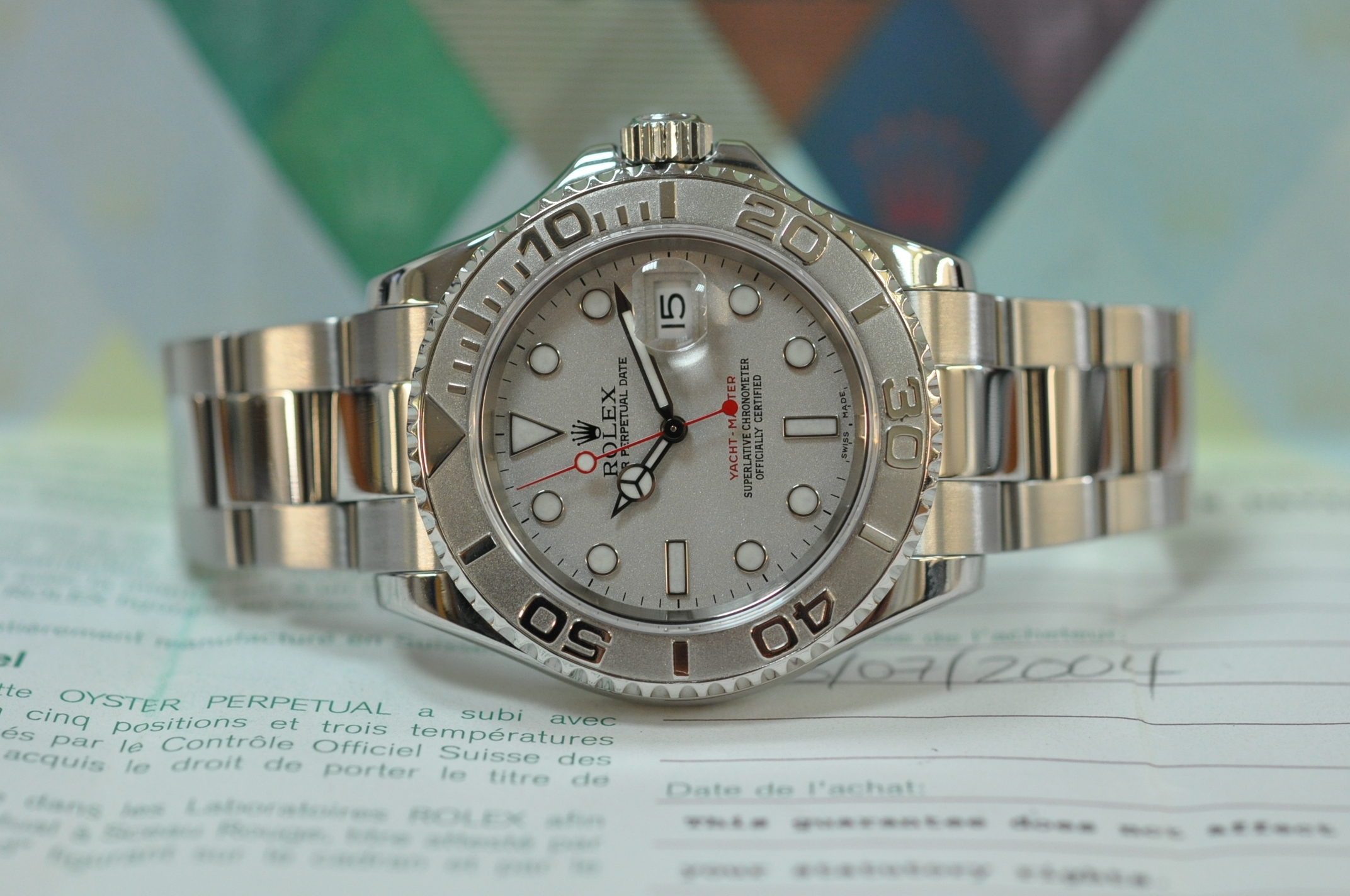 2004 Yachtmaster Rolesium 16622