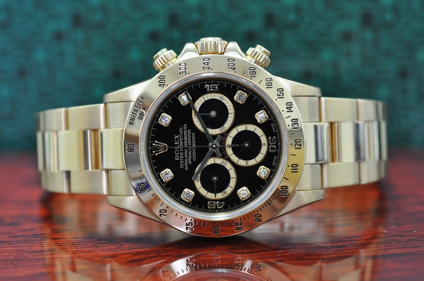 18ct Gold Daytona 'Inverted 6'