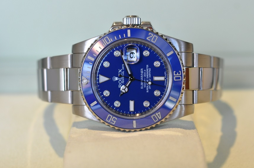 2011 18ct white gold Submariner