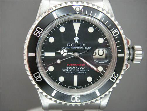 1971 Submariner-Date 1680/0 Red