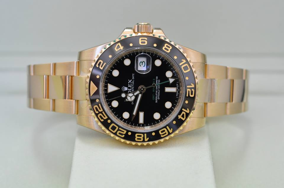 2014 GMT-Master II Yellow Gold