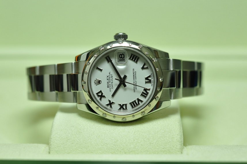 Dec 2012 Datejust Diamond Bezel
