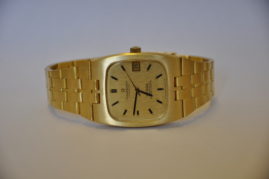 1970's 18ct Omega Constellation