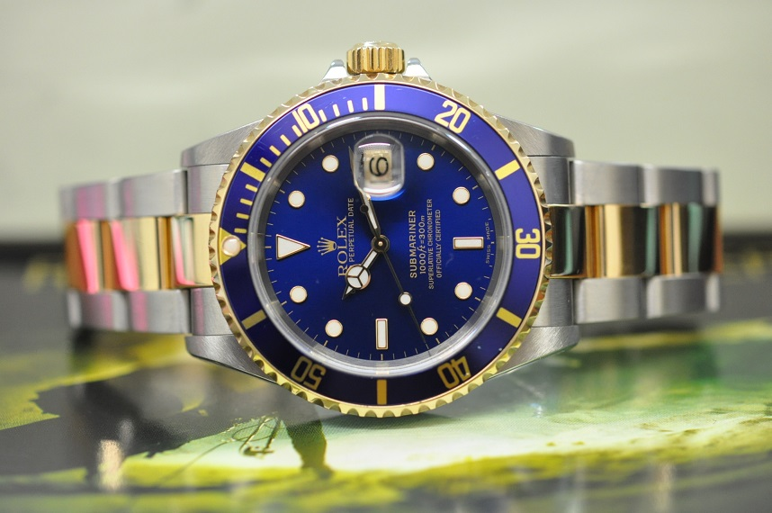 2003 Submariner steel/gold