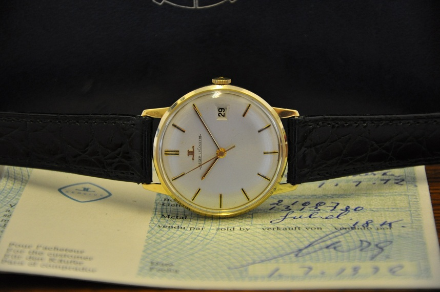 1972 Gold Jaeger le Coultre