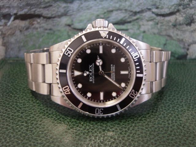 2001 Rolex Submariner 14060