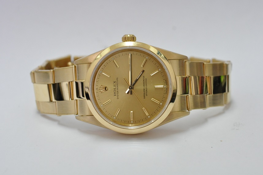 14208 Gold Rolex Oyster