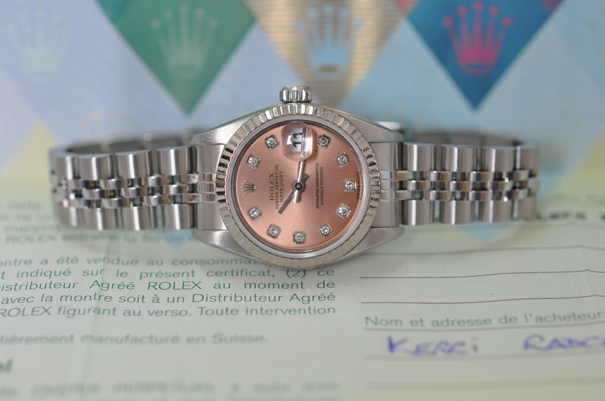 2004 Lady Datejust Diamond dial