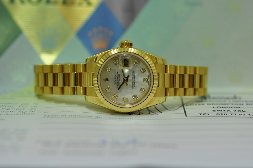 Lady Datejust Mother of Pearl Diamonds