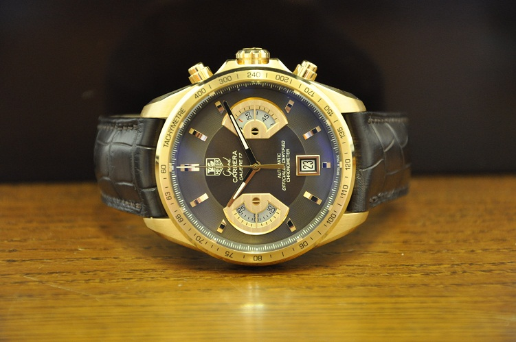 Limited Edition 18ct Rose Gold Grand Carrera