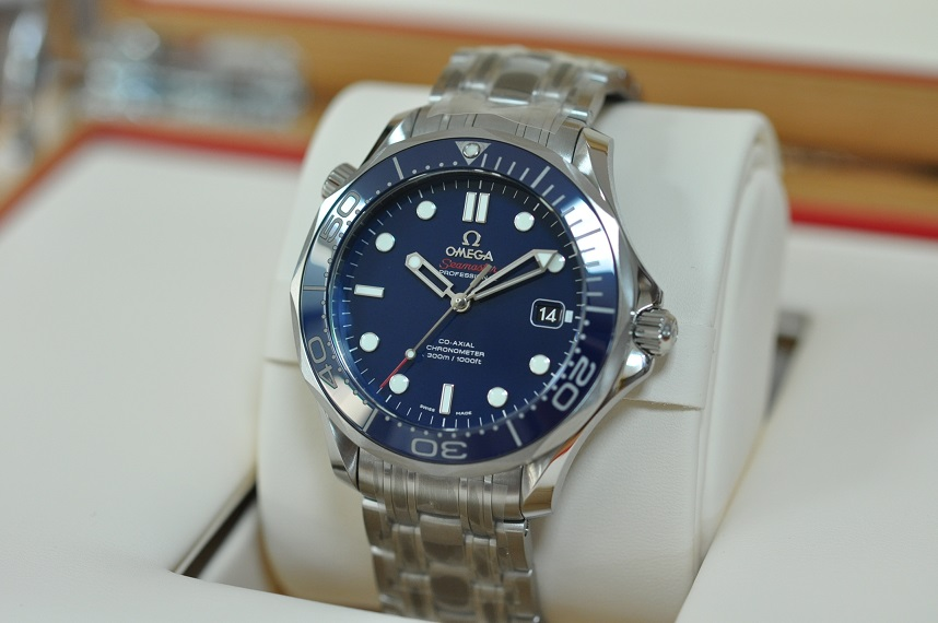 New 2019 Seamaster Diver 300M Blue