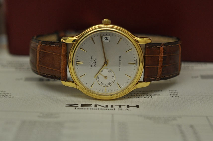 18ct Elite chronometer