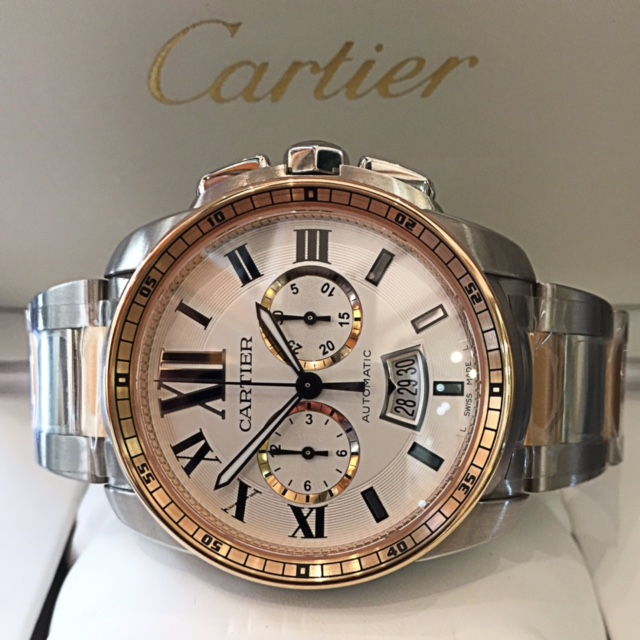 New Cartier Calibre Chronograph