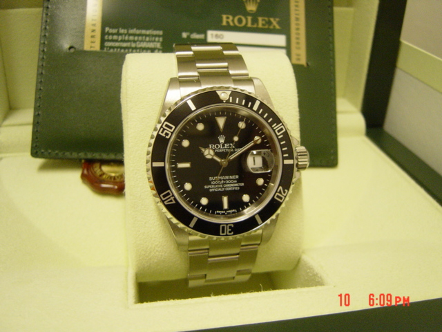 July 2007 Z series Submariner-Date