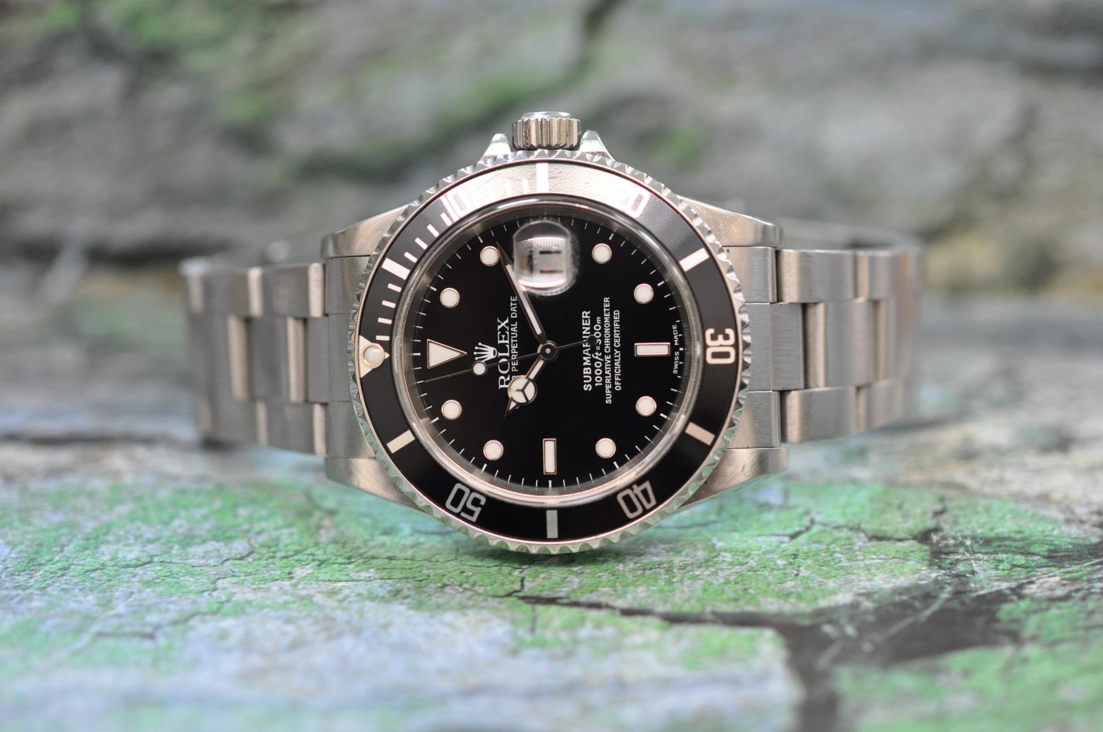 2000 Submariner-Date 16610