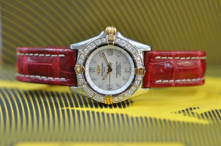 Windrider Callistino diamond dial/bezel