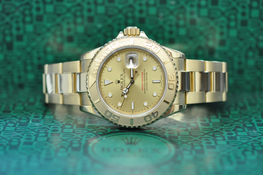 1995 18ct gold Yachtmaster