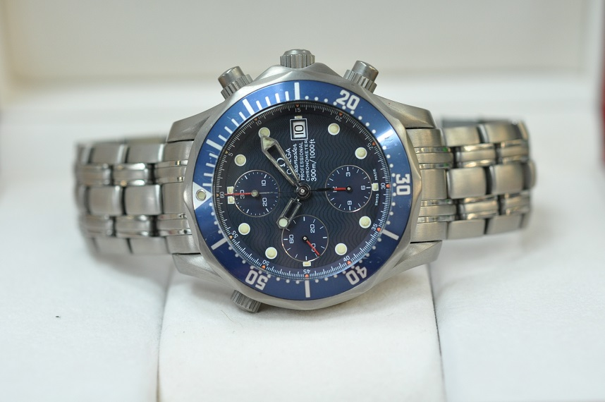 2298.80.00 Ti Seamaster Chronograph