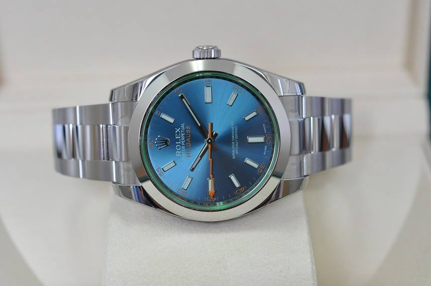 New 2015 Milgauss GV Z Blue