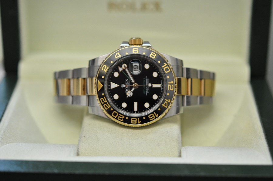 2012 GMT-Master II steel & gold