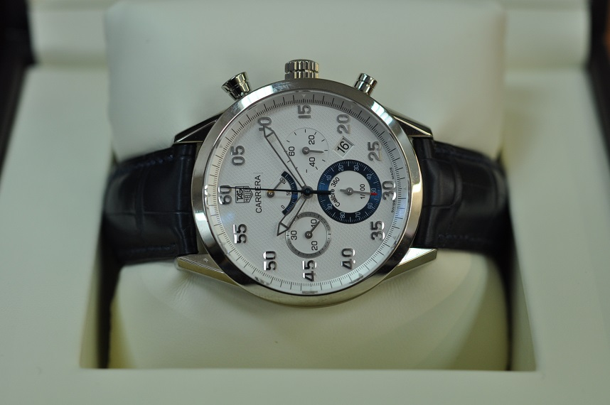 18ct white gold Carrera Calibre 360