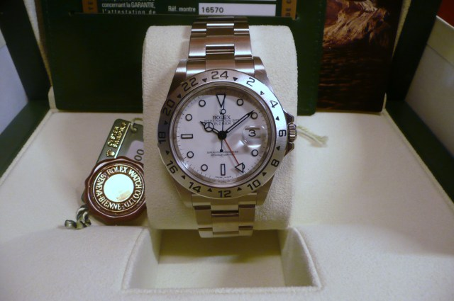 June 2008 Rolex Explorer II