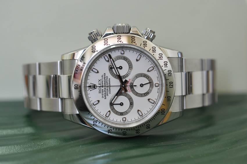 2009 Daytona white dial