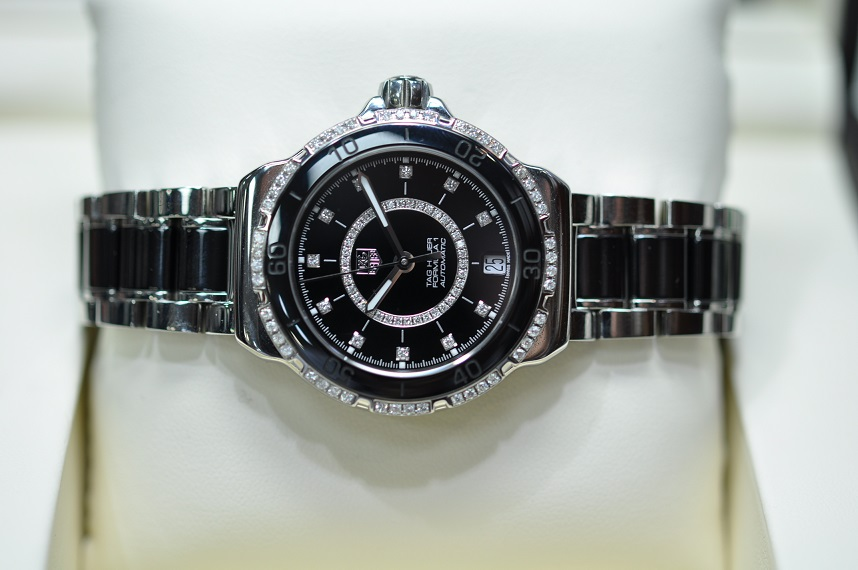 December 2015 F1 Diamond dial and bezel
