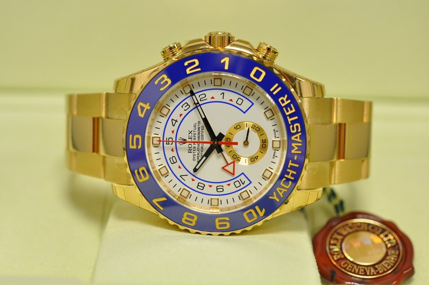 New 2014 Gold Yachtmaster II
