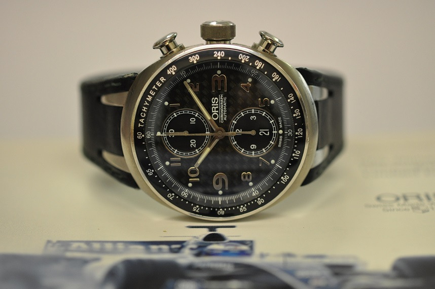 Oris TT3 Williams F1 chronogaph