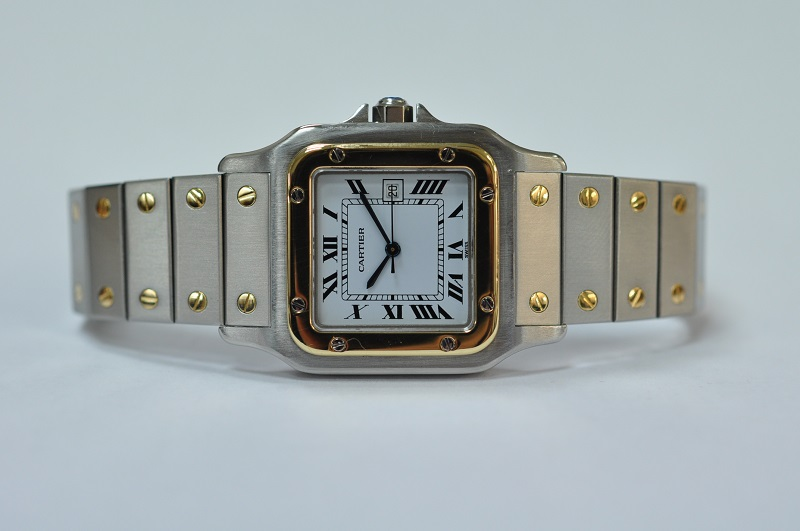 Steel Gold Santos automatic