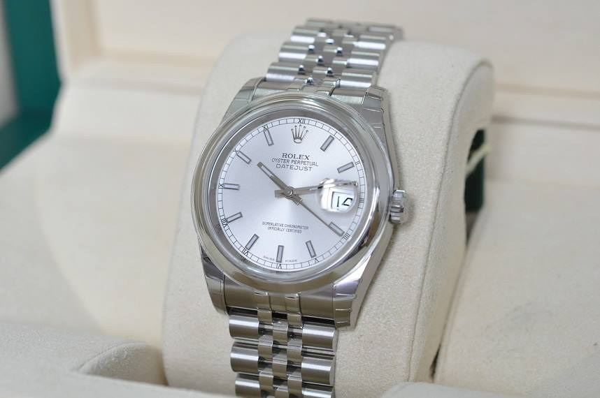 New 2015 Datejust 116200
