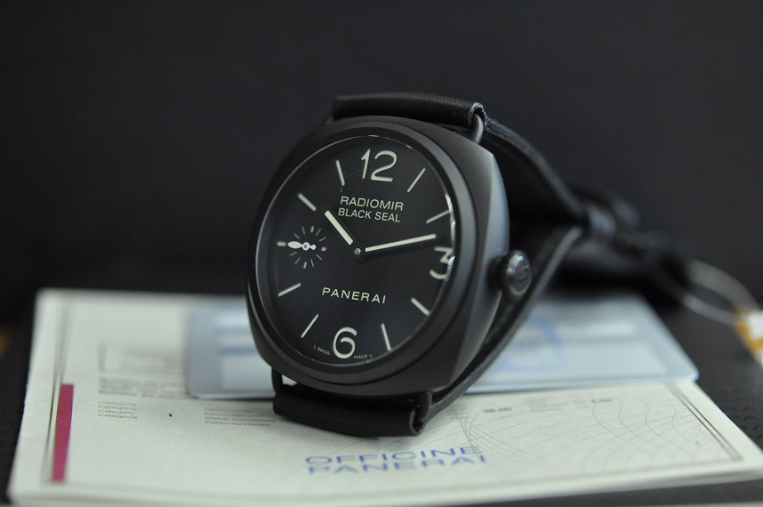 Unworn Ceramic Radiomir 'Black seal'