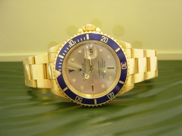 18ct Rolex Submariner-Date