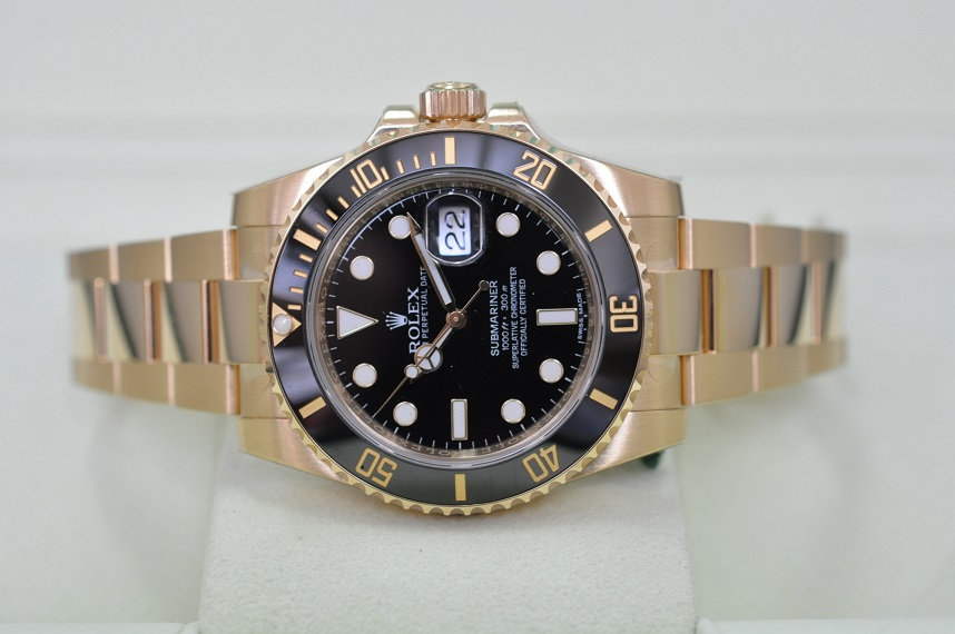 2015 Gold Submariner 116618LN