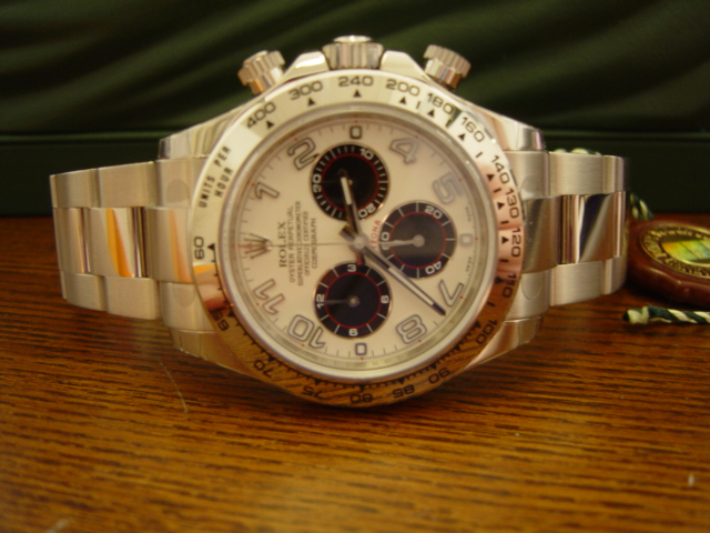 Daytona 'Exotic Dial' 116509