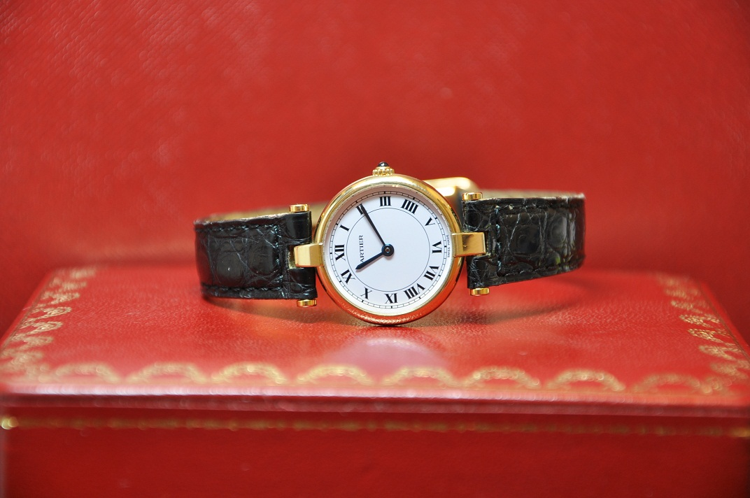 18ct Gold Cartier VLC