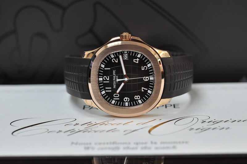 2019 18ct rose gold Aquanaut Extra Large