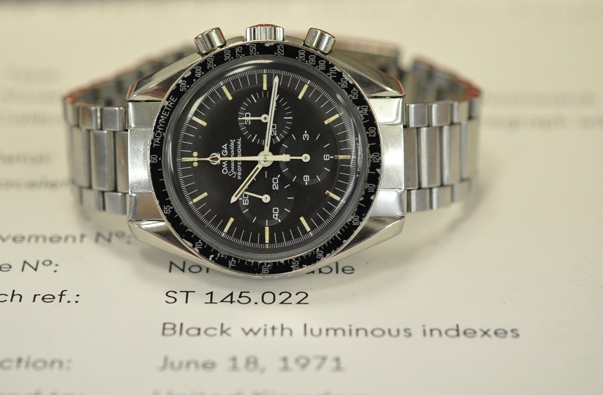 1971 Speedmaster 'straight line'