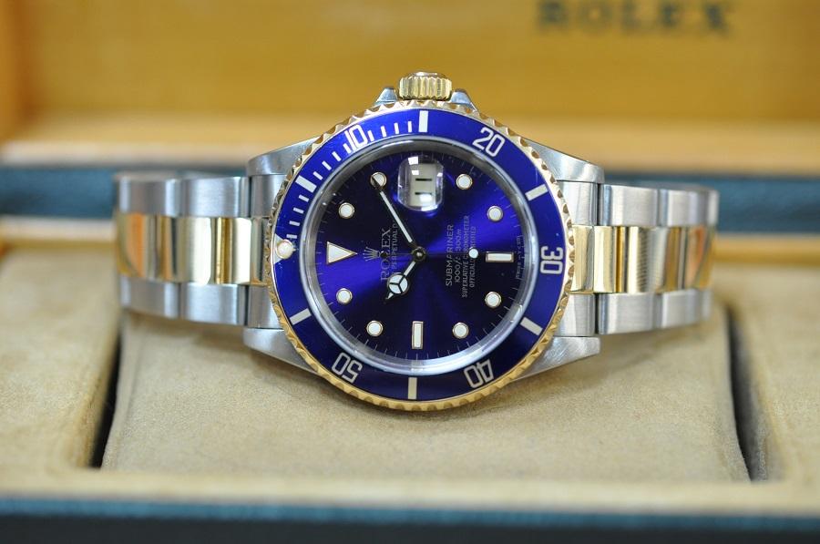 Rolex Submariner steep & gold