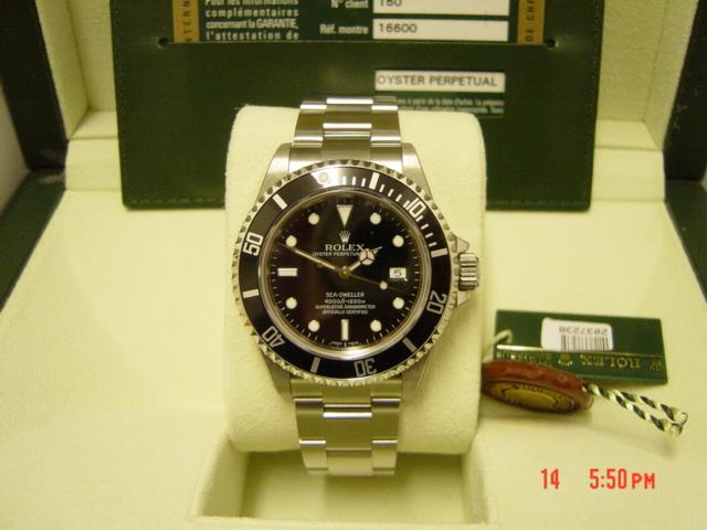 Sept 2008 'M' series Rolex Seadweller