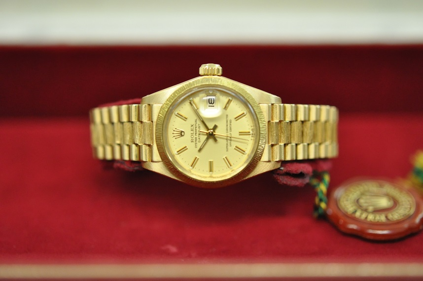 18ct gold Lady Datejust