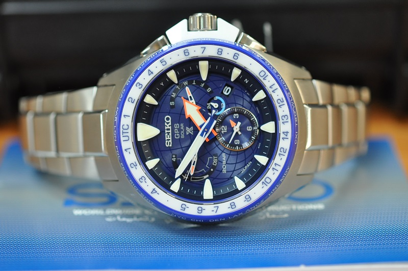2019 GPS Solar Prospex MarineMaster Watch