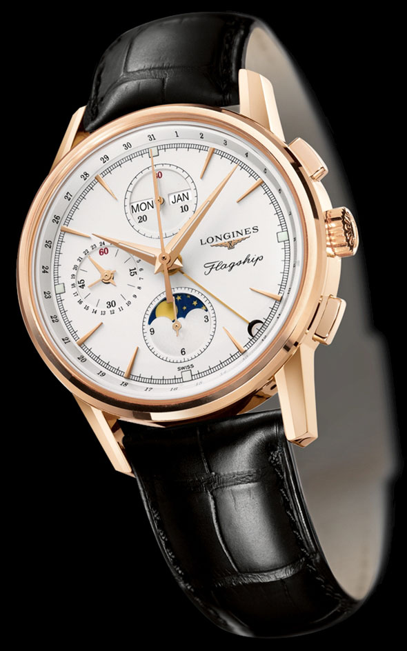 New 18ct Gold Flagship Chronograph L47928772