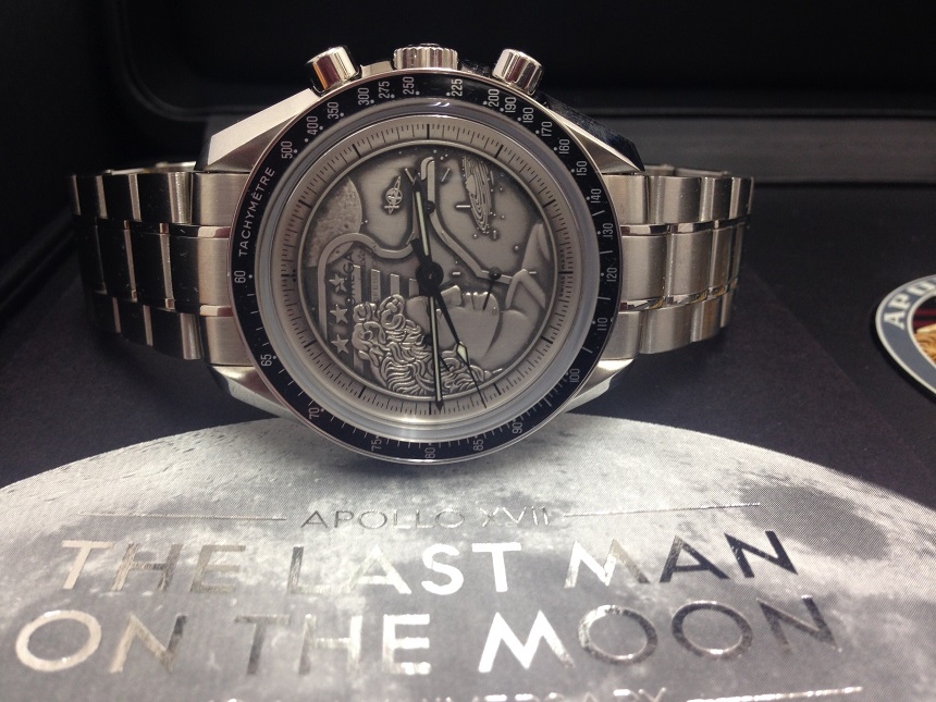 New Omega Speedmaster 'Last man on the moon'
