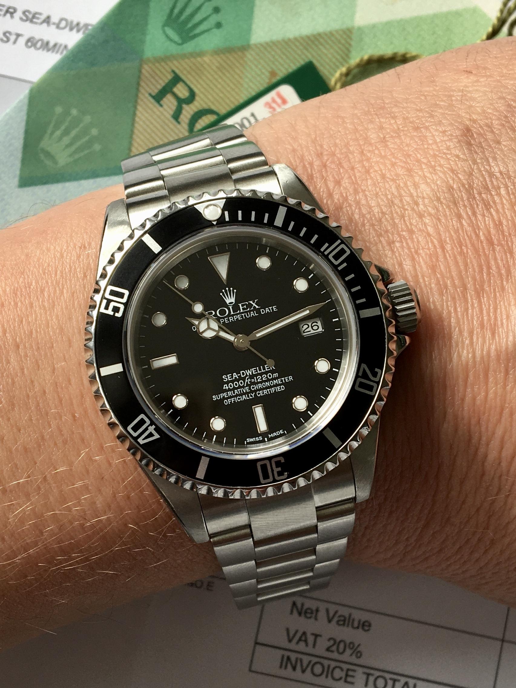 2003 Sea-Dweller 4000