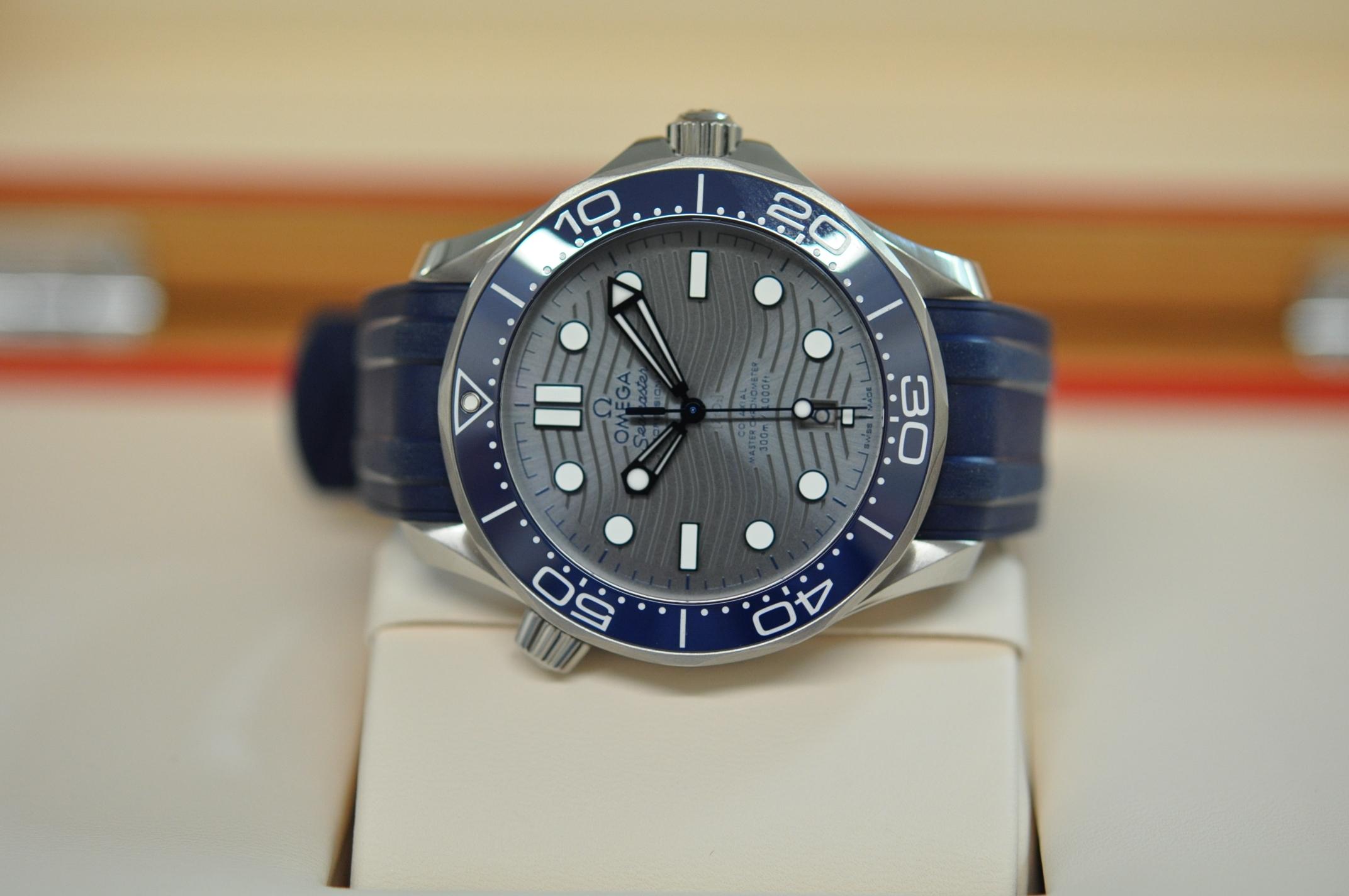 New Seamaster Diver Co-Axial (grey)